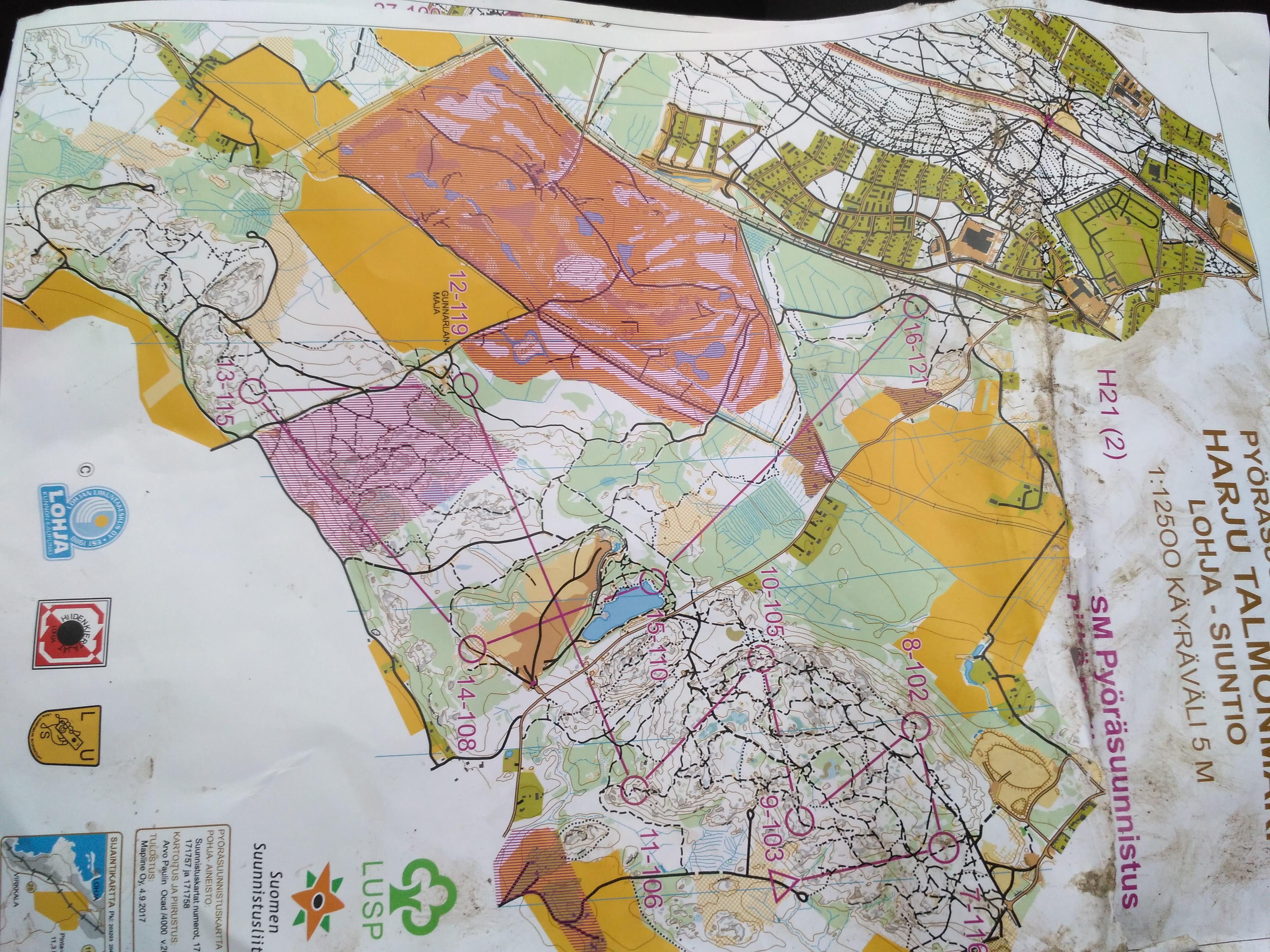 Карта лонга 2