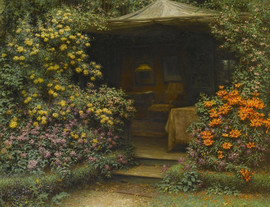 Arthur Wasse. The Garden Room