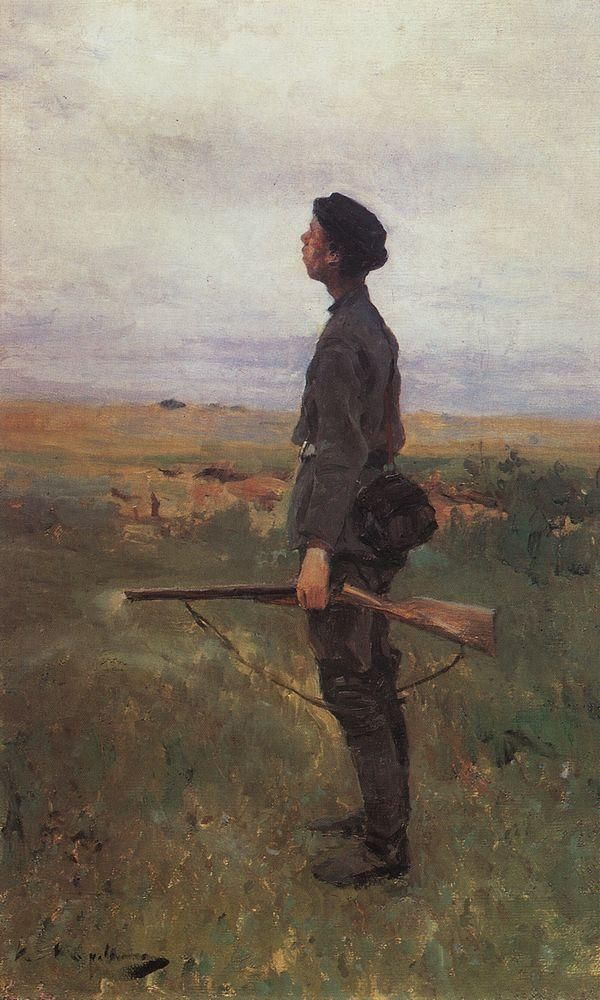 Константин Коровин «Неудача» (1886)