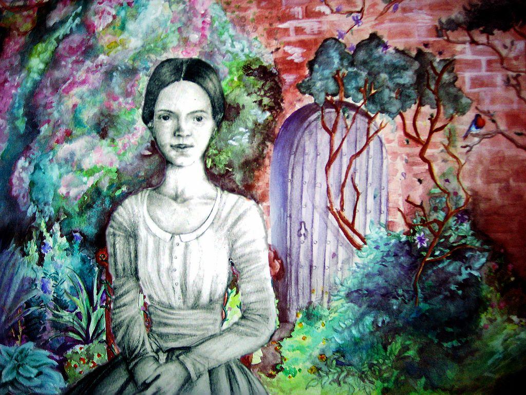 Emily Dickinson (@aru-lover; Deviantart.com)
