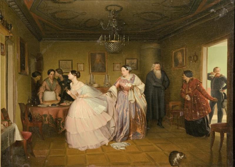 Павел Федотов «Сватовство майора» (1848)