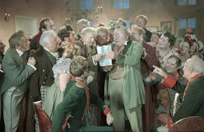 Экранизация комедии Н. В. Гоголя Ревизор (1952)