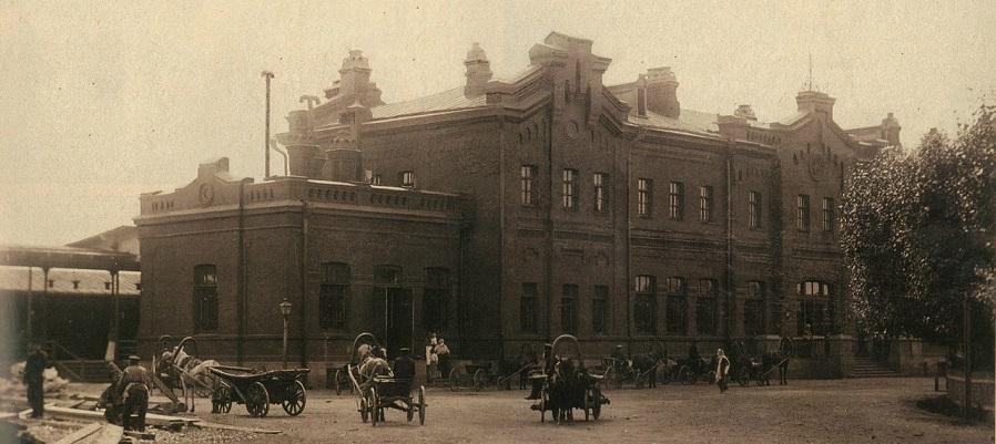 Тюмень конца XIX века