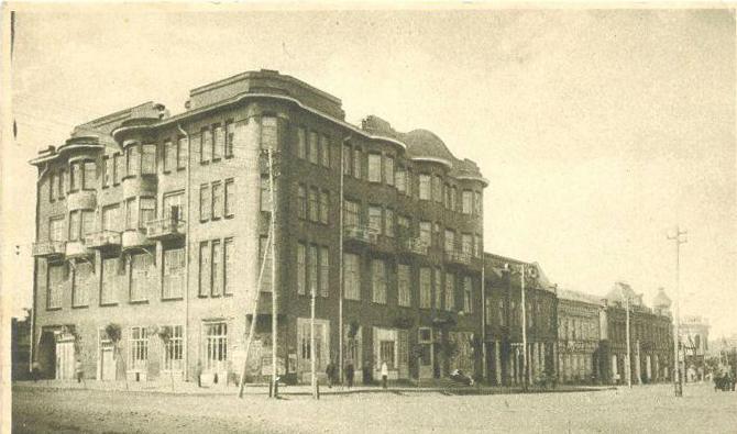 Армавирская гостиница «Большая Советская», где в 1927 году останавливался А. Барбюс