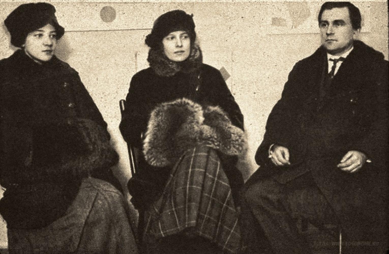 Авангардистский «Супремус»: Ольга Розанова, Ксения Богуславская, Казимир Малевич, 1915