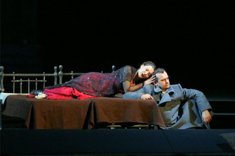 «Братья Карамазовы»: сцена из оперы в постановке Мариинского театра (редакция 2013 года)