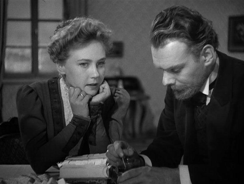 «Дама с собачкой» (кадр из фильма, 1960)