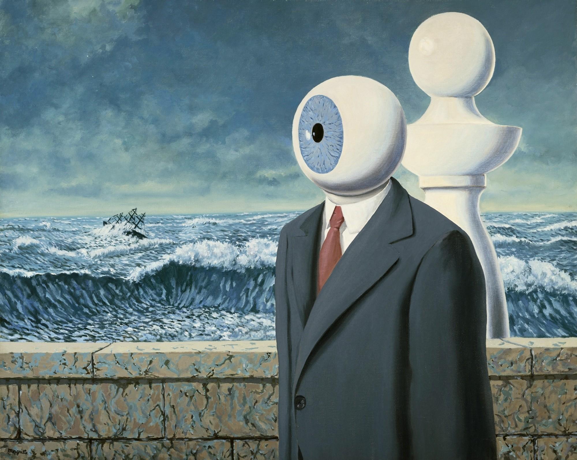Рене Магритт «Трудности перехода» (1963)