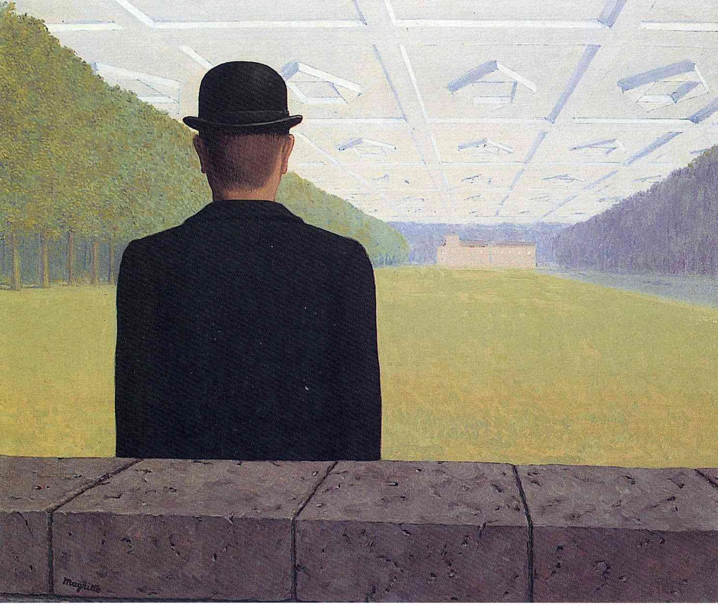 Рене Магритт «Великий век» (1954)