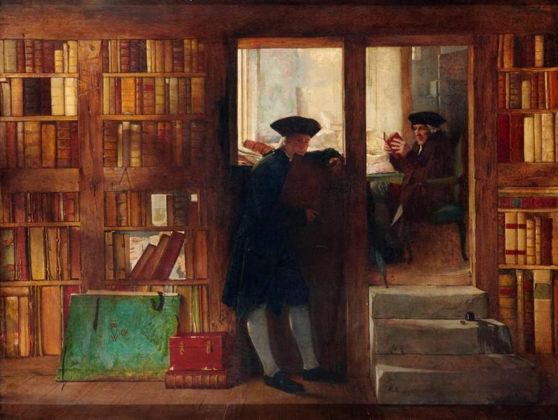 Уильям Феттес Дуглас «Призрак библиофила» (1864)