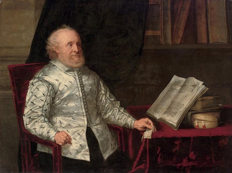 «Портрет библиофила» (XVII век, Англия)