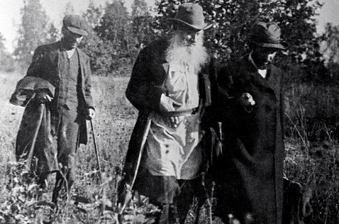 Лев Толстой в 1895 году