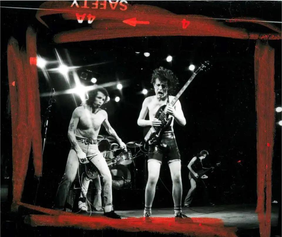 AC/DC, Лондон, 1978 (photo © Steve Joester)