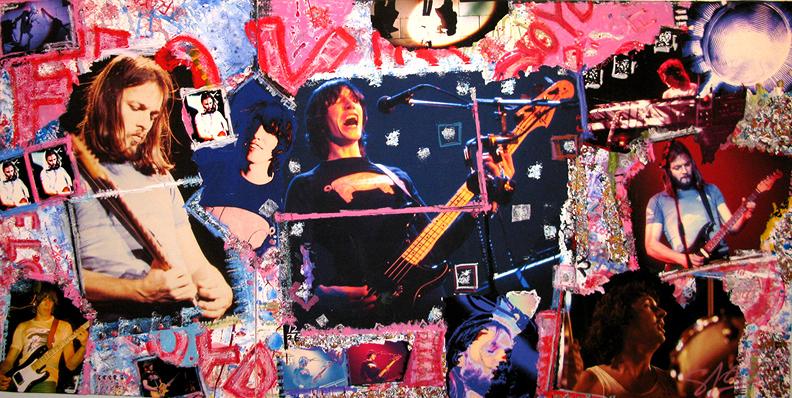 Pink Floyd, 1977 (photo © Steve Joester)