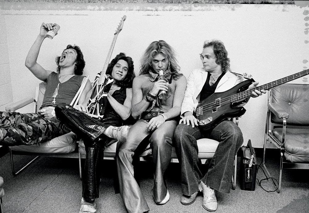 Van Halen, 1979 (photo © Neil Zlozover)