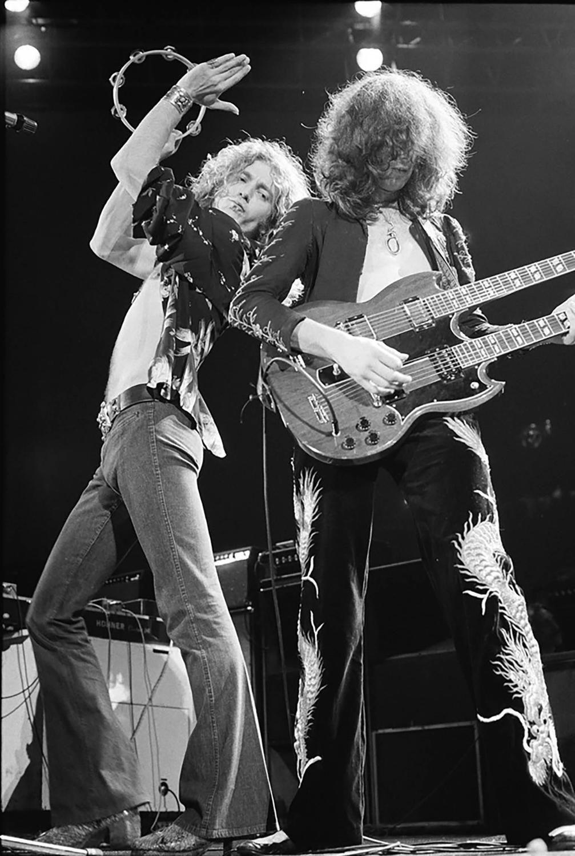 Led Zeppelin, Лос-Анджелес, 1975 (photo © Neil Zlozover)
