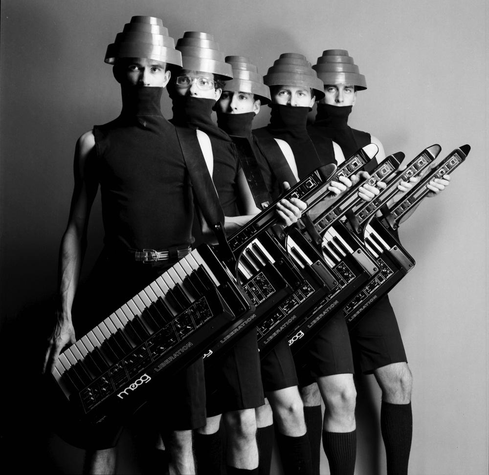 Devo, 1980 (photo © Neil Zlozover)