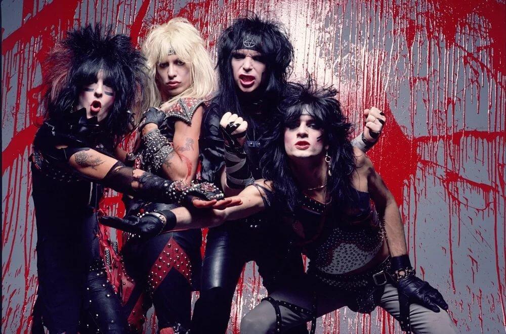 Mötley Crüe, 1984 (photo © Neil Zlozover)