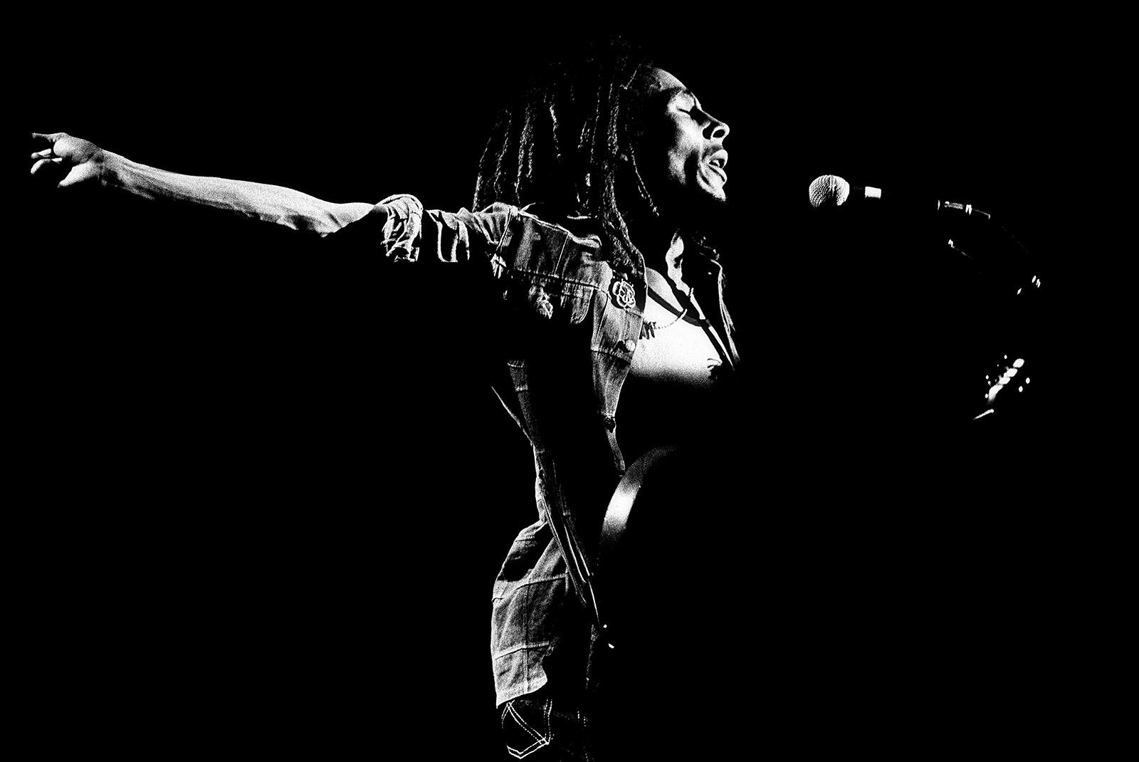 Боб Марли, Лос-Анджелес, 1979 (photo © Neil Preston)