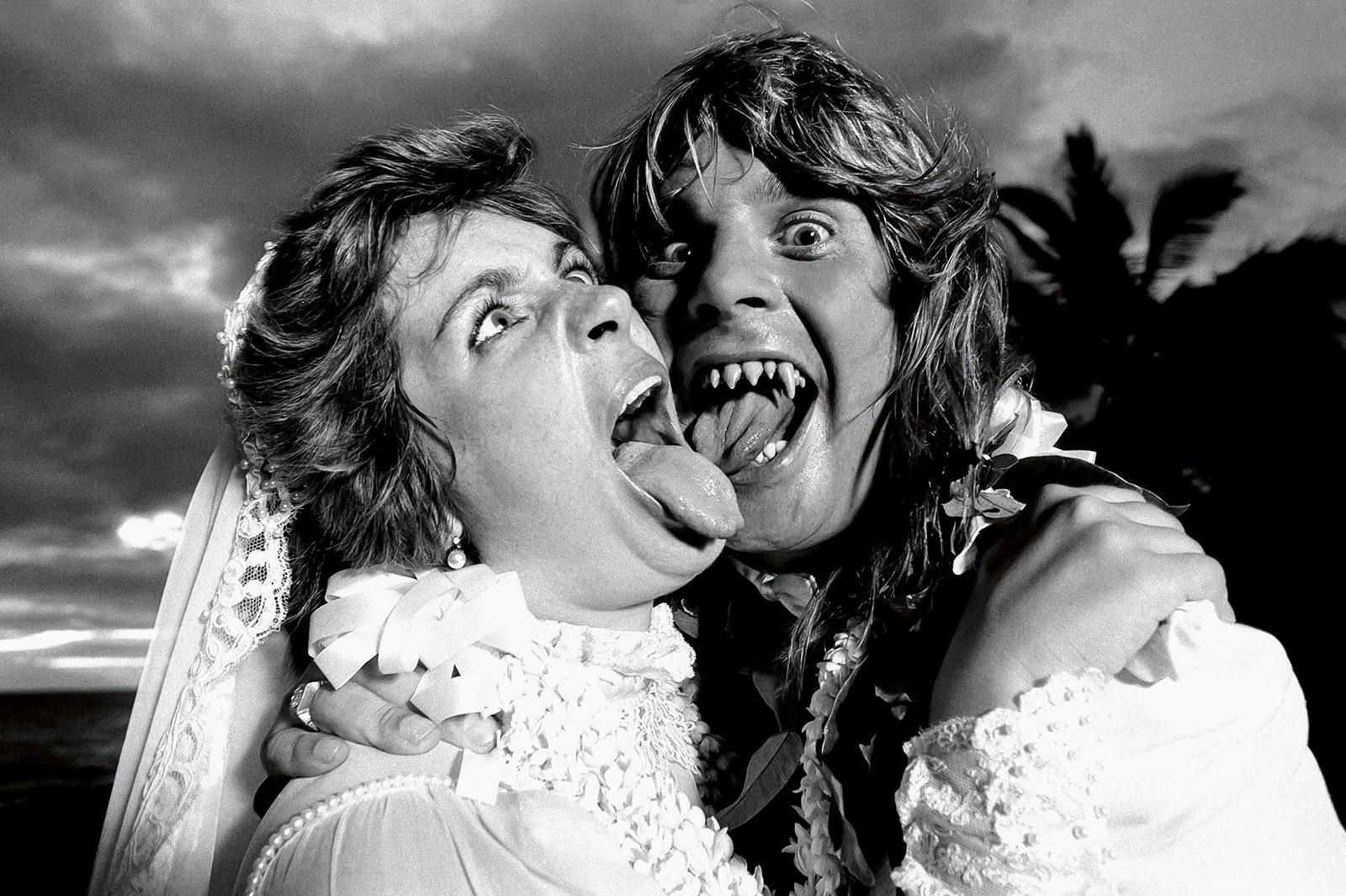 Оззи и Шэрон Осборн, 1982 (photo © Neil Preston)