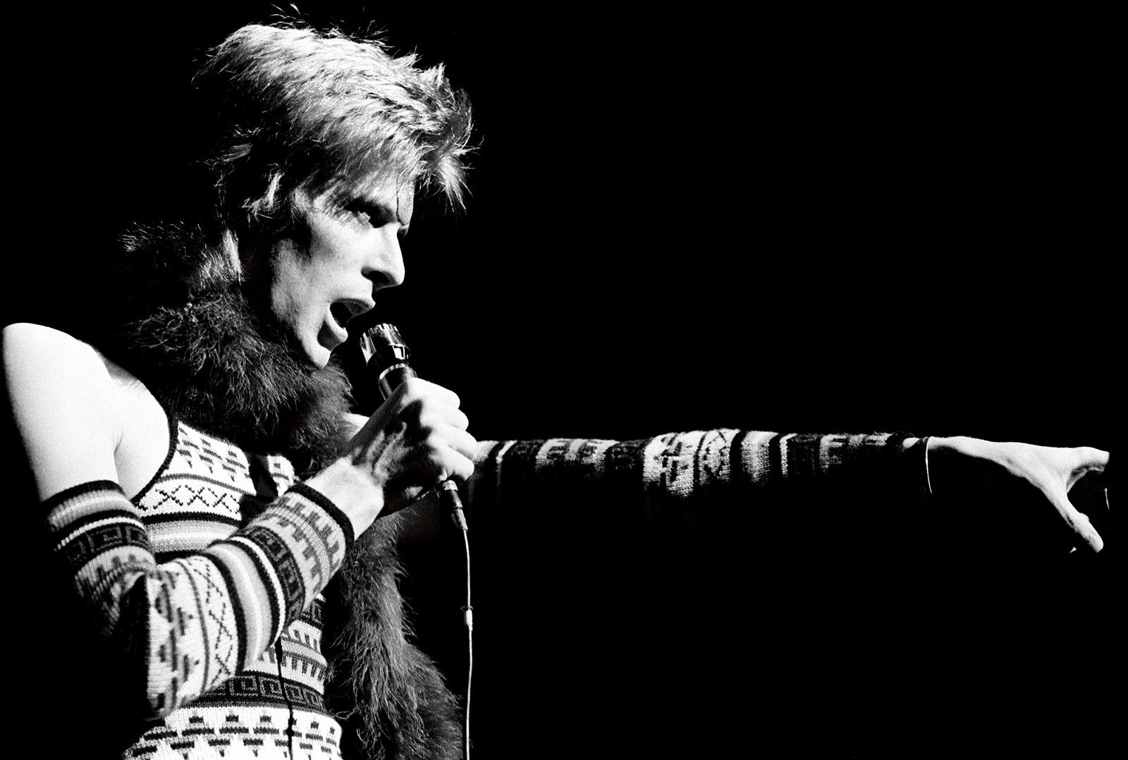 Дэвид Боуи, 1973 (photo © Neil Preston)