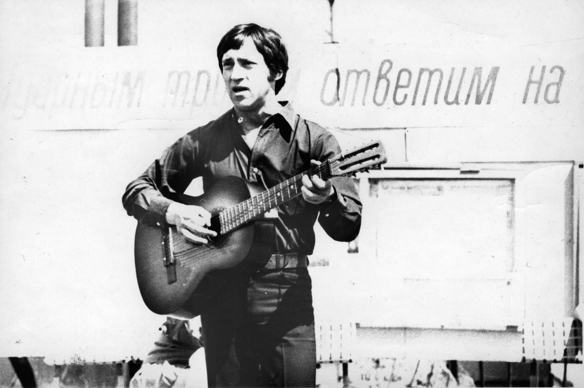 Владимир Высоцкий на КАМАЗе, июнь 1974 года