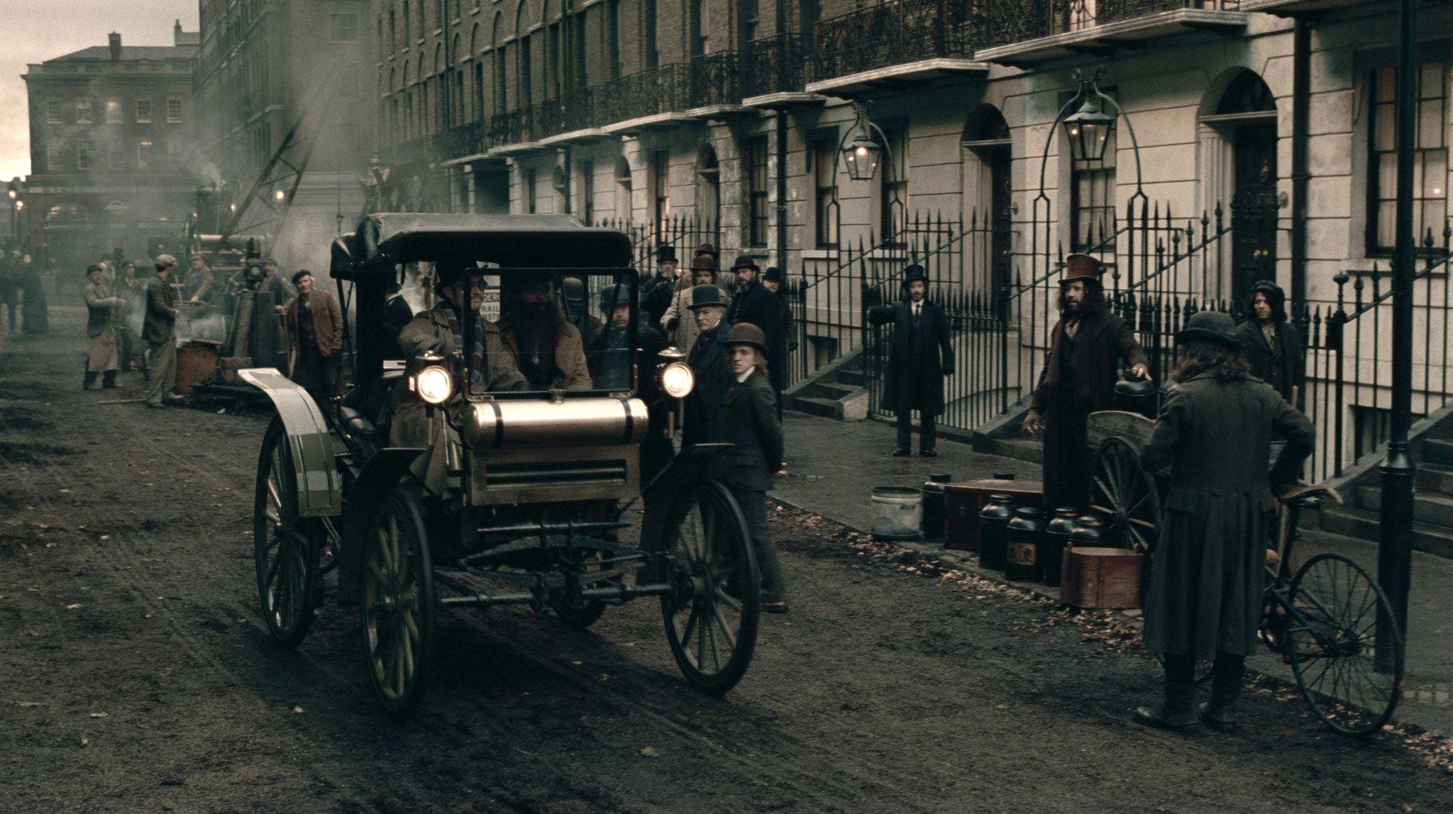 Кадр из фильма «Шерлок Холмс: Игра теней» (режиссёр Гай Ричи, 2011)