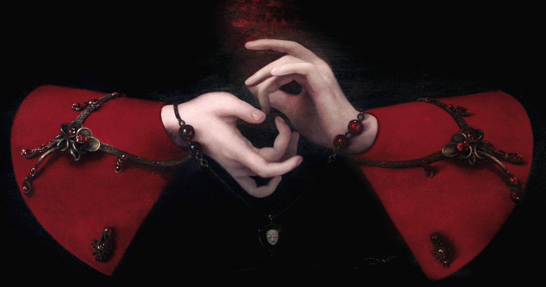 Иллюстрация: Ольга Акаси «Пальцев рук переплетенья»