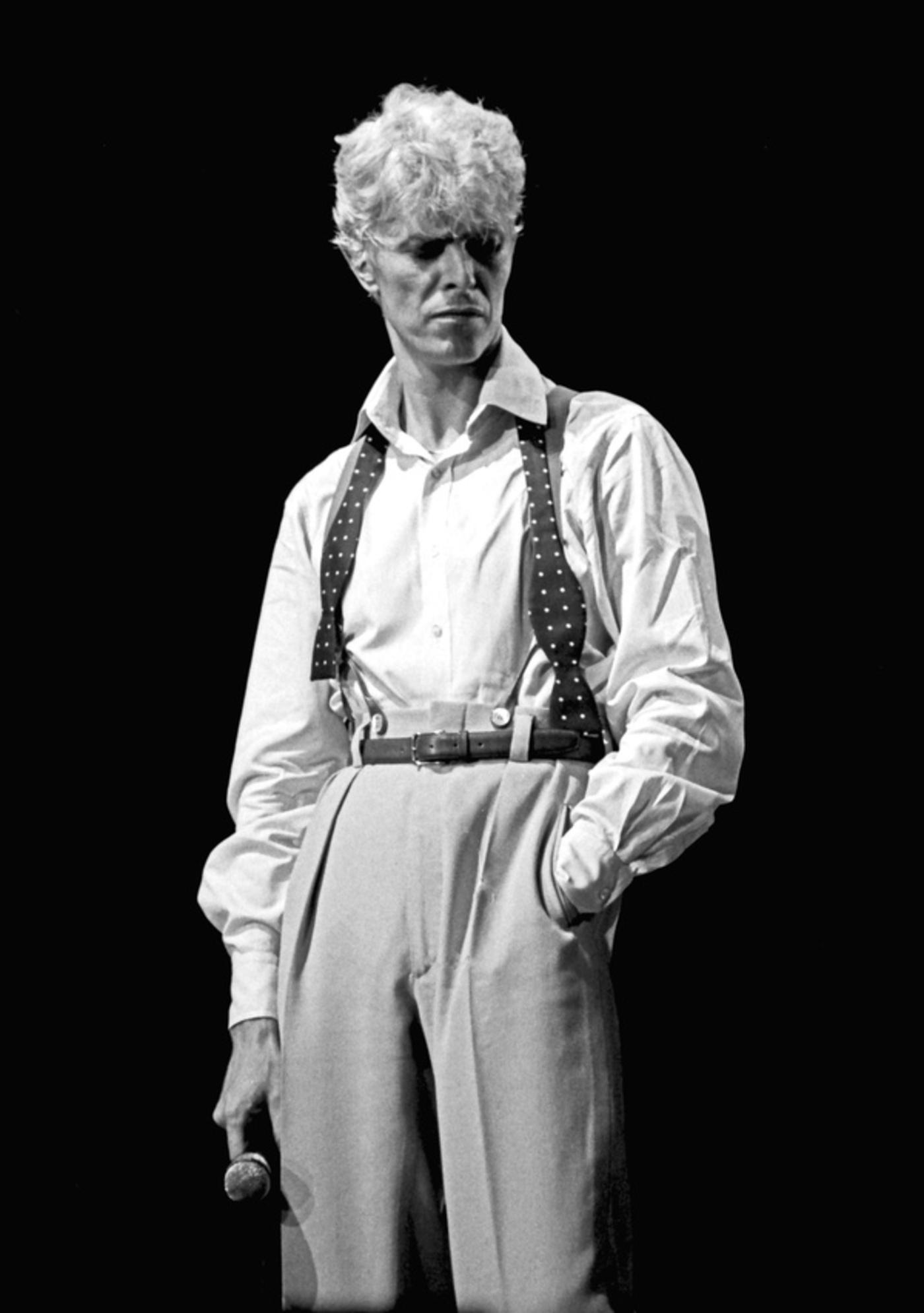 Дэвид Боуи, 1983 (photo © Janet Macoska)