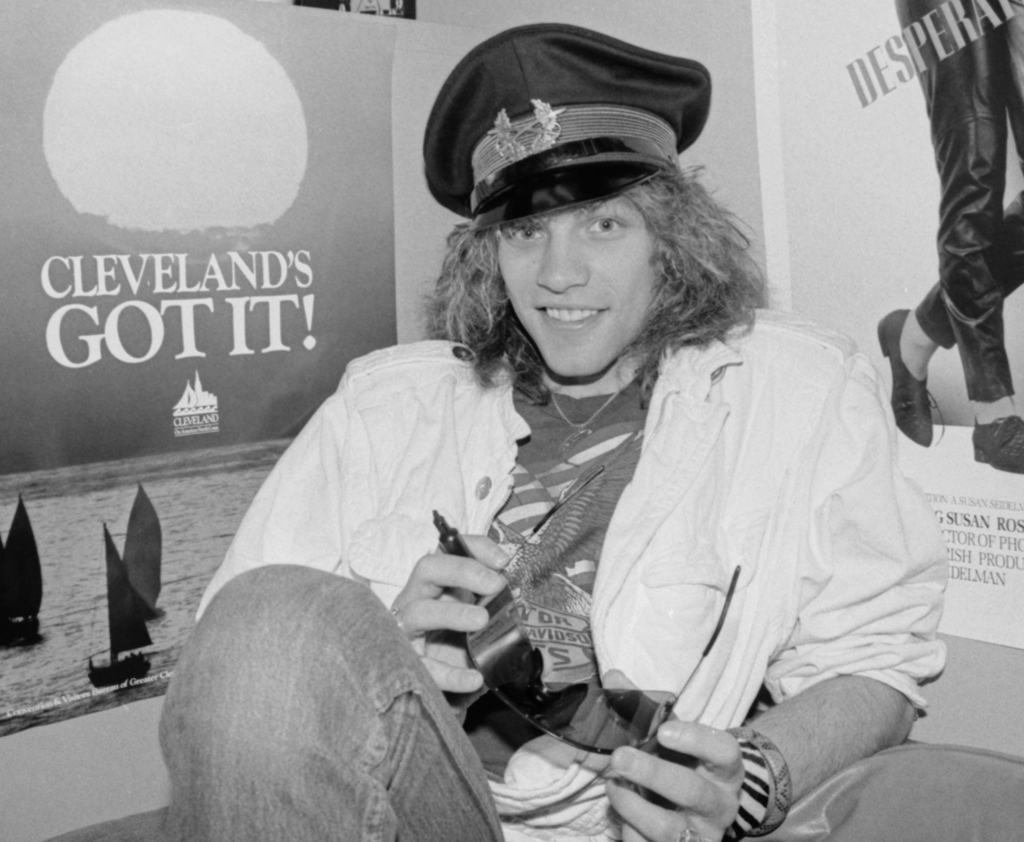Джон Бон Джови, 1985 (photo © Janet Macoska)