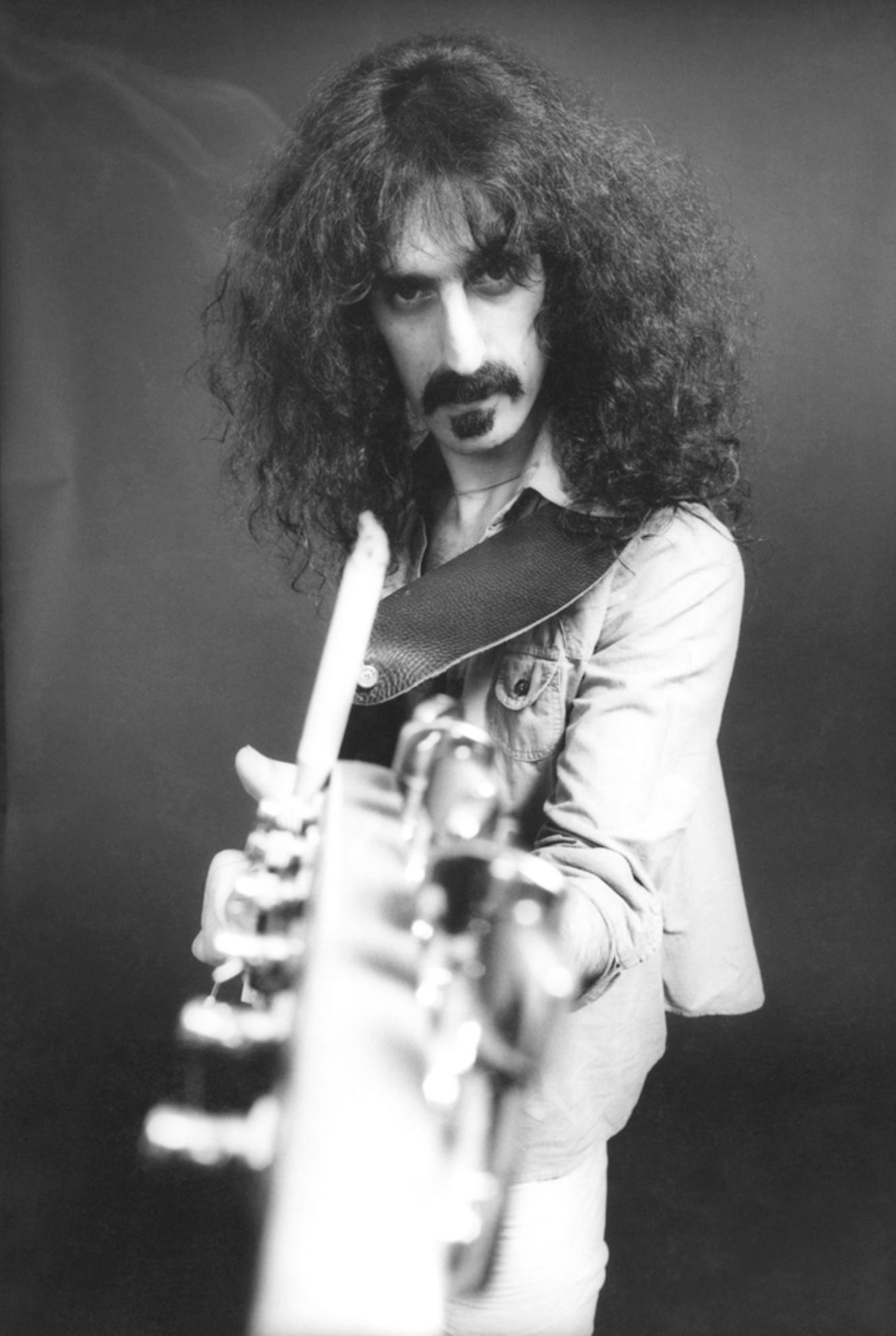 Фрэнк Заппа, 1976 (photo © Neil Zlozover)