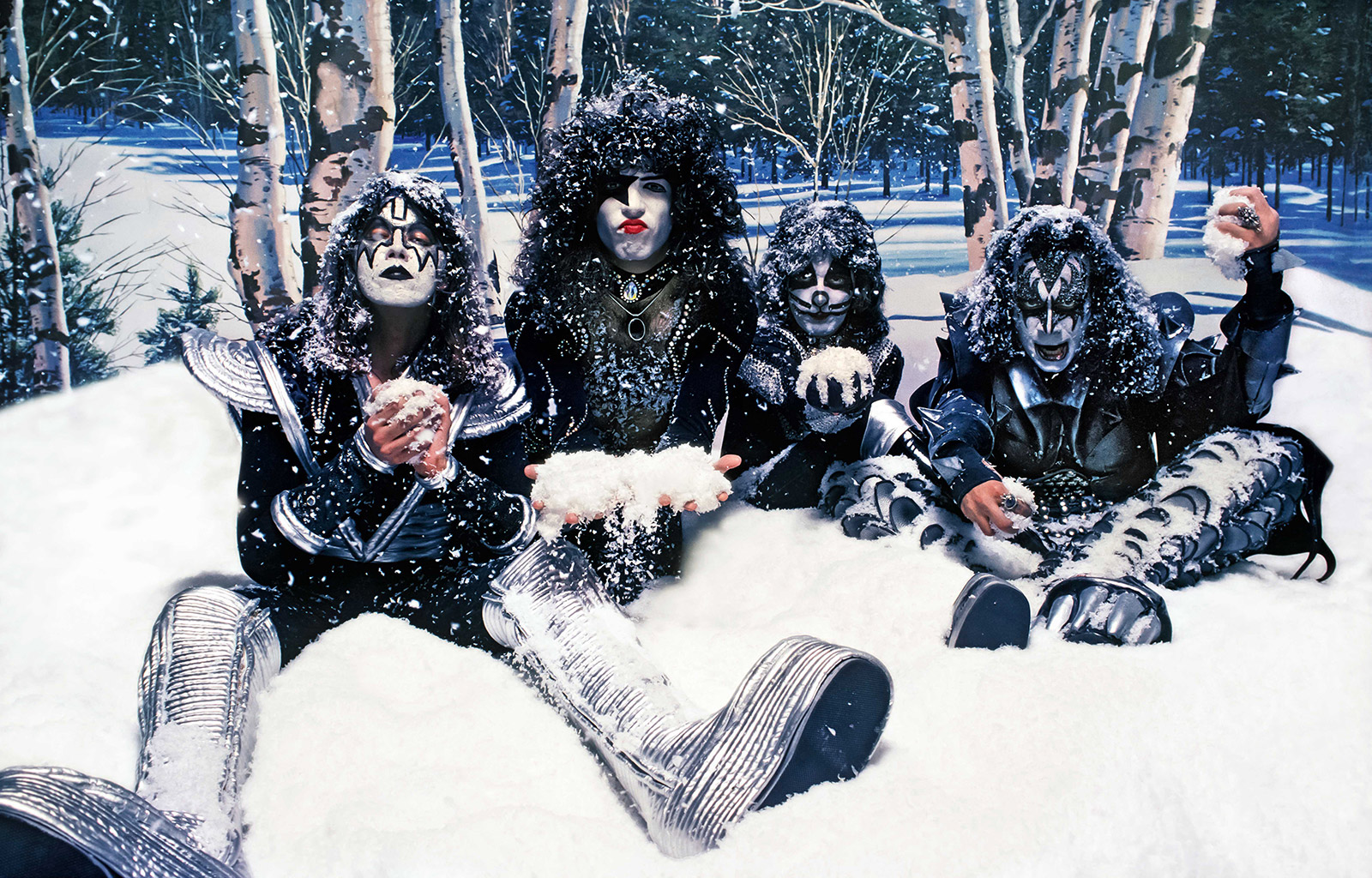 Kiss, 1976 (photo © Neil Preston)