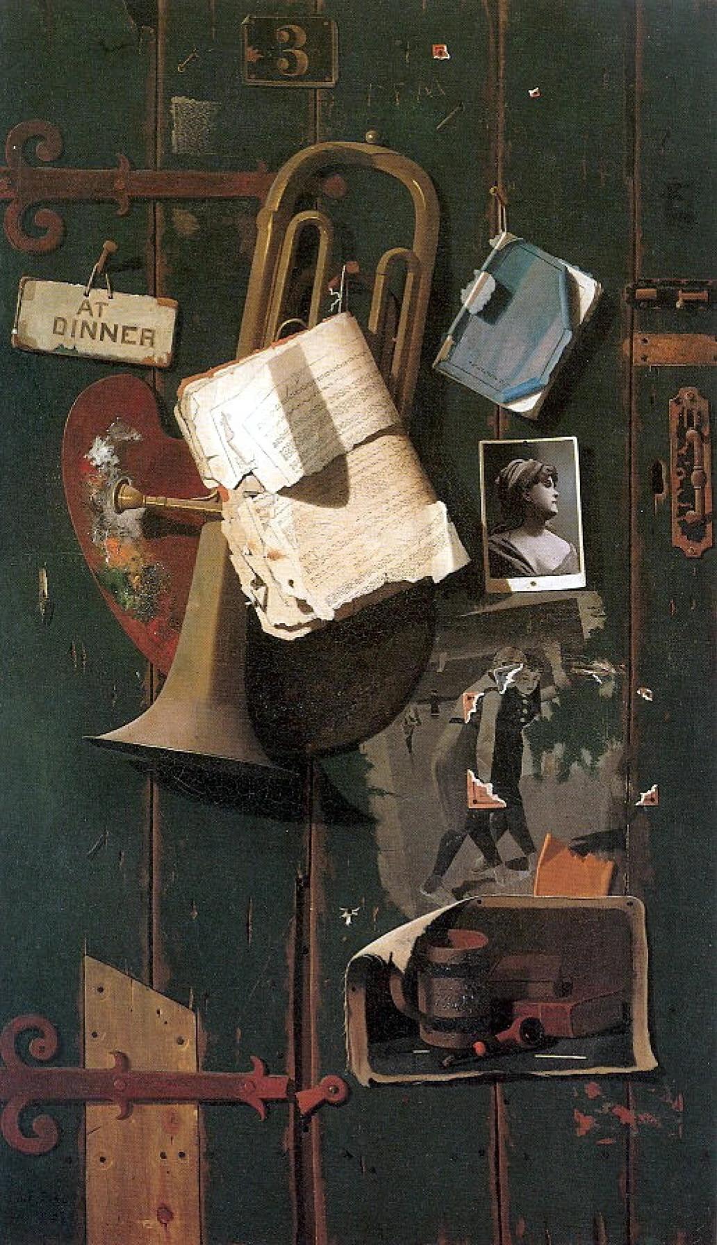 Джон Фредерик Пето «Старая дверь»