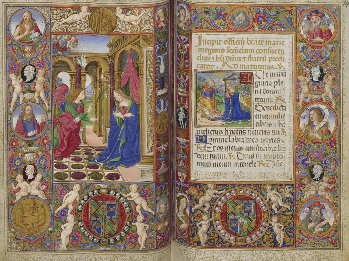 Молитвенник, Флоренция, начало XVI в. (из собрания Австрийской национальной библиотеки)