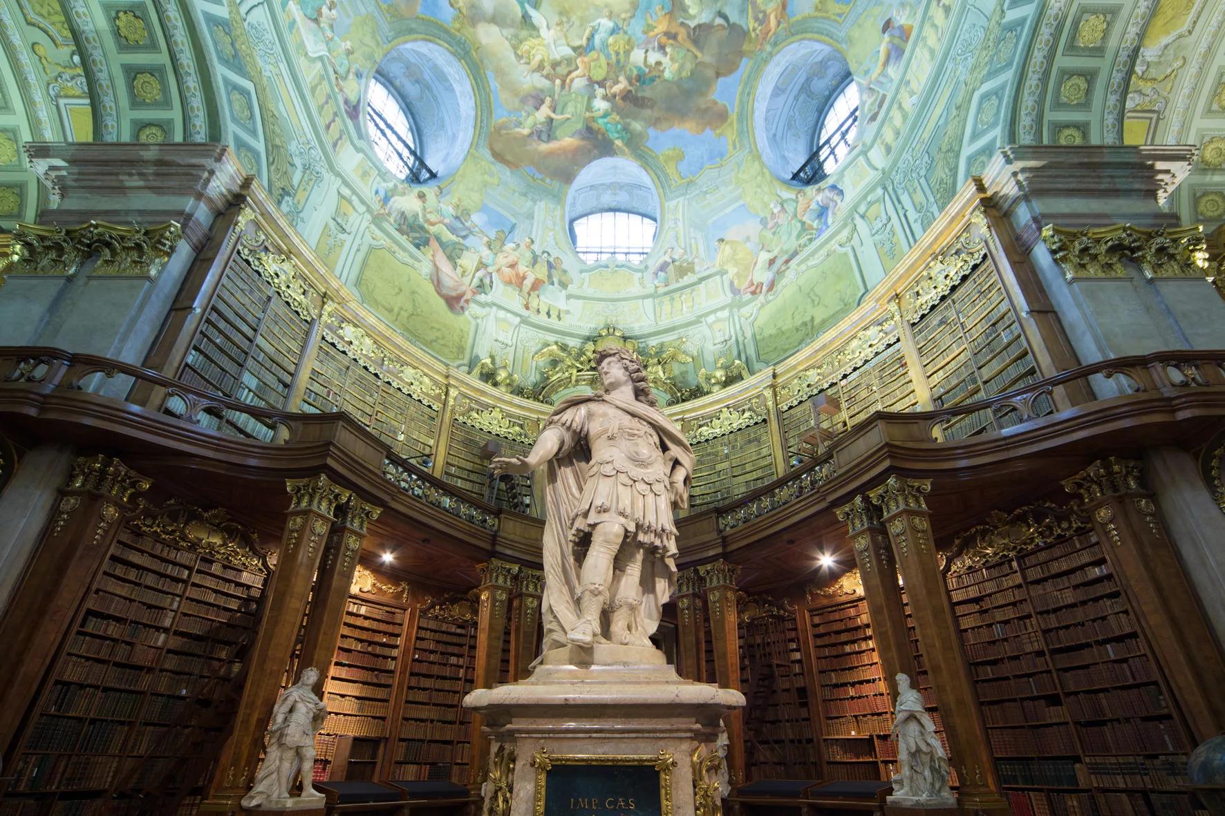 Prunksaal (Фото с сайта Австрийской национальной библиотеки: onb.ac.at)