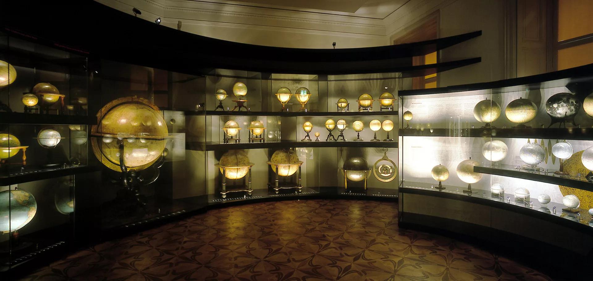 Музей глобусов (Фото с сайта Австрийской национальной библиотеки: onb.ac.at)