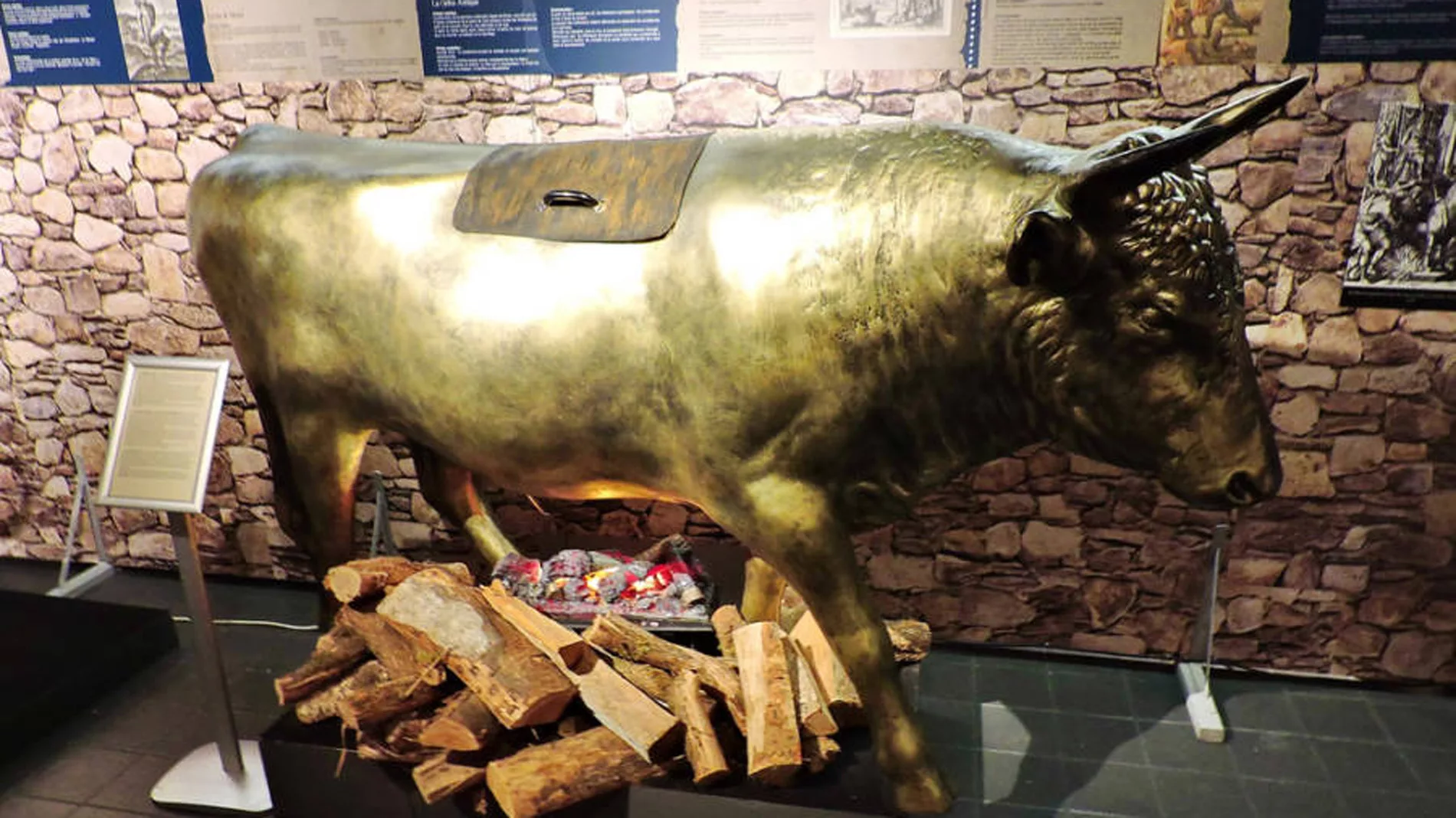 Реконструкция быка Фалариса (Фото: https://twitter.com/yarcon_win)
