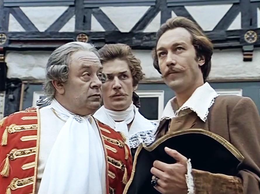 Кадр из фильма «Тот самый Мюнхгаузен» (реж. Марк Захаров, 1979)