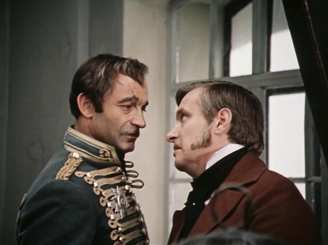 Кадр из фильма «О бедном гусаре замолвите слово...» (реж. Эльдар Рязанов, 1980)