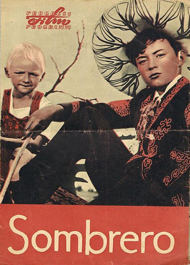 Постер фильма «Сомбреро» (1959, реж. Т. Лисициан)