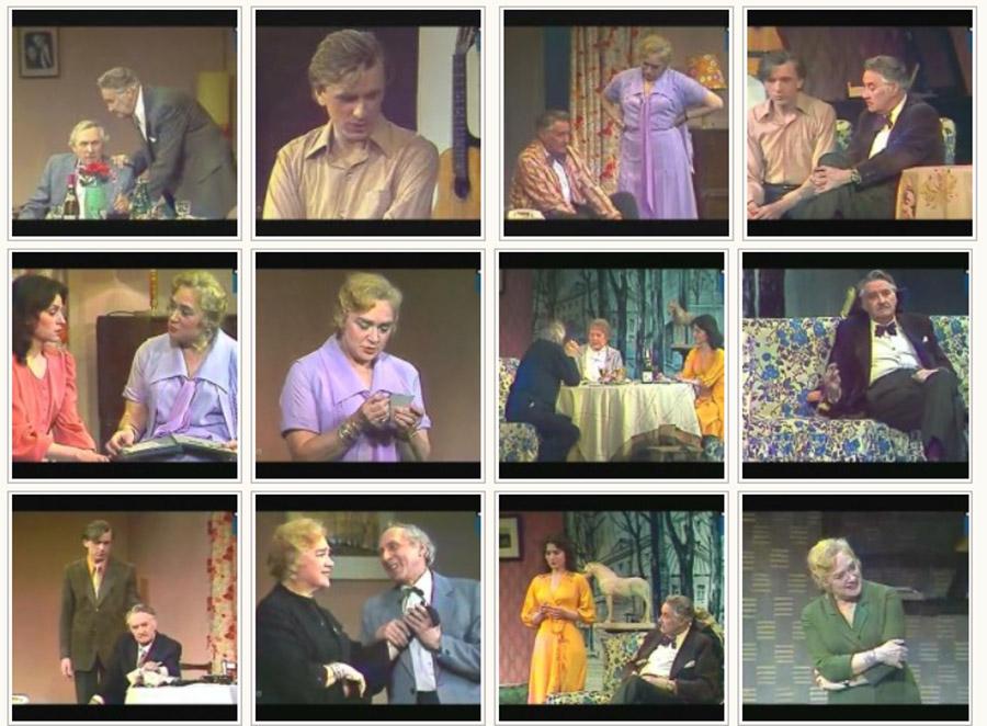 Кадры из телеспектакля «Миллион за улыбку» (1981)