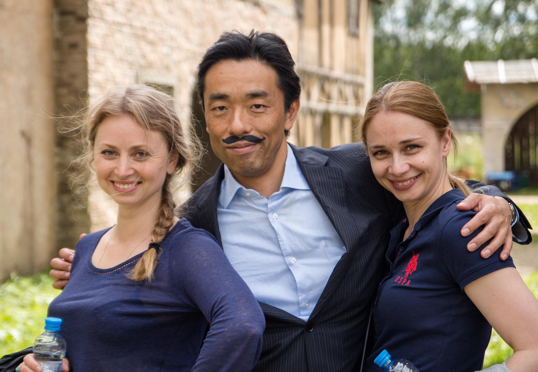Хаякава Хироки с коллегами (источник фото: rb.ru)