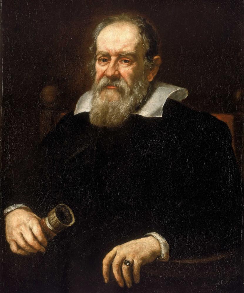 Юстус Сустерманс «Галилео Галилей» (ок. 1640, Национальный морской музей, Гринвич)
