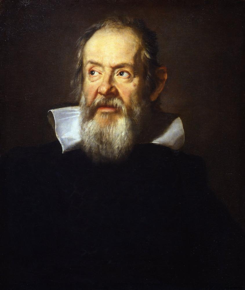 Юстус Сустерманс «Галилео Галилей» (1635, Галерея Уффици, Флоренция)