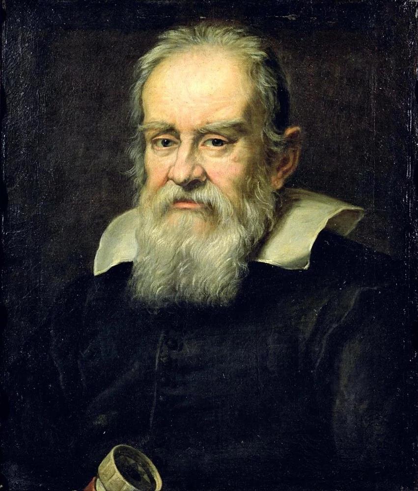 Юстус Сустерманс «Галилео Галилей» (1636, Палаццо Питти, Флоренция)