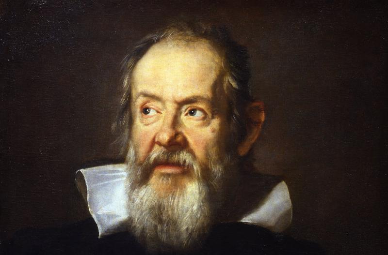 Юстус Сустерманс «Галилео Галилей» (1635, фрагмент)