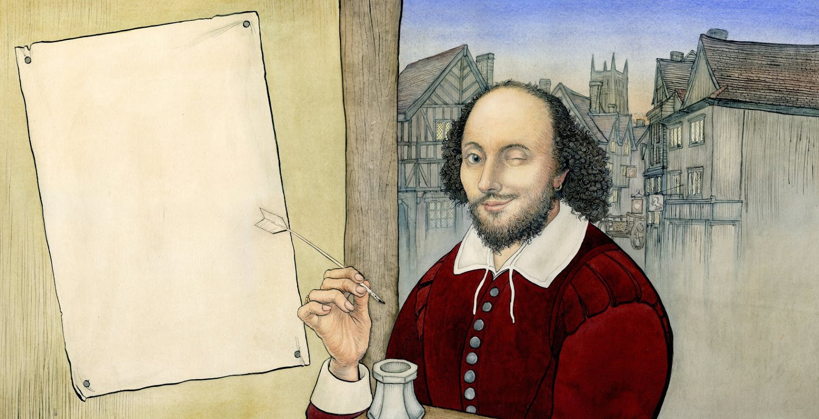 Иллюстрация Джона Стенли в книге «Shakespeare for children and their parents»