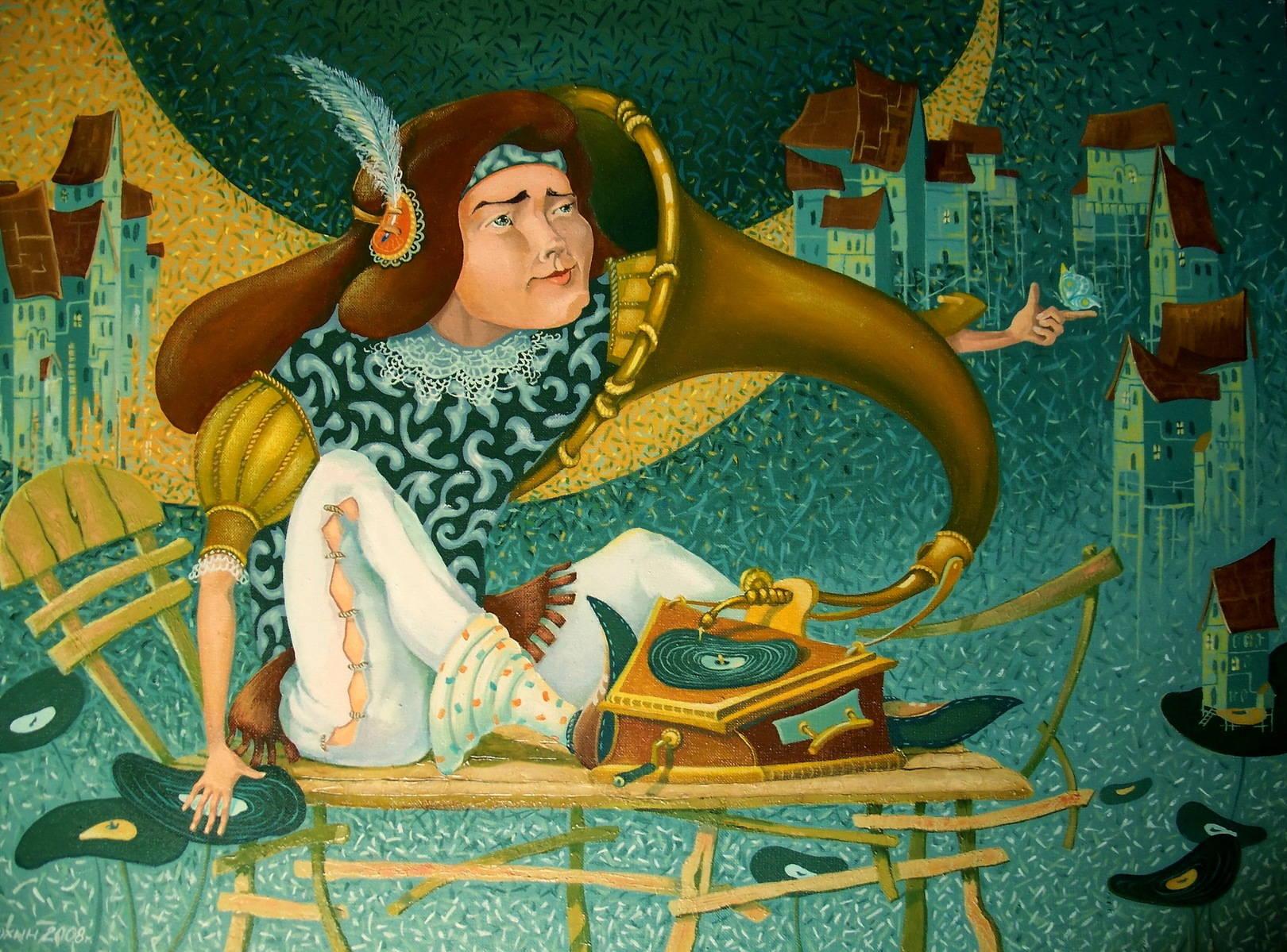 Здесь и далее: картины Игоря Посохина