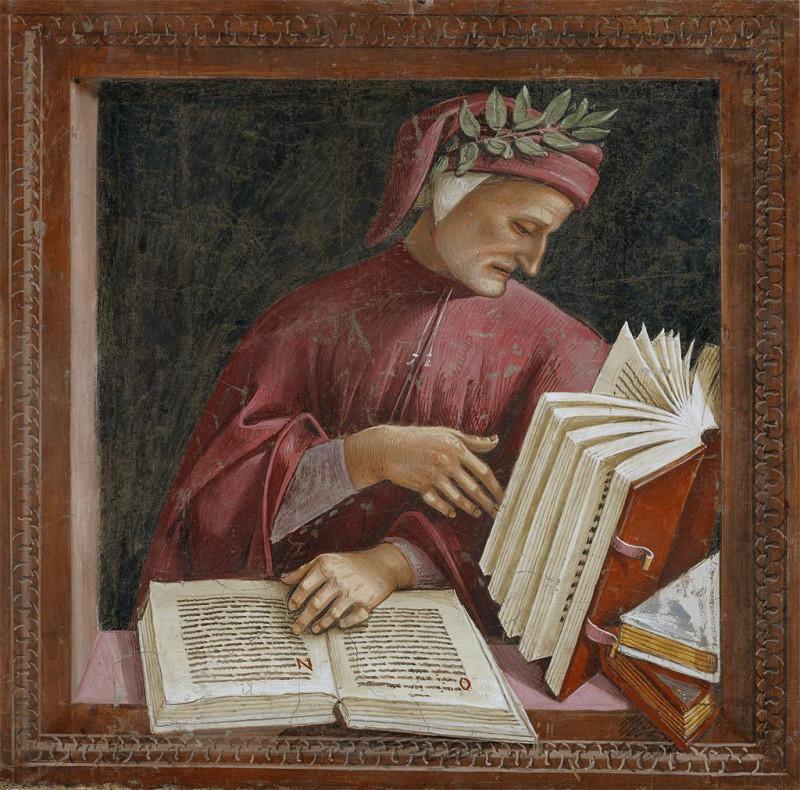Лука Синьорелли (1450 — 1523) «Данте Алигьери»