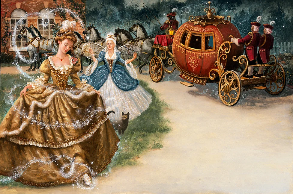 Рут Сандерсон «Золушка превратилась в принцессу»